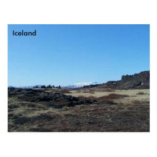 Þingvellir, Iceland Postcard