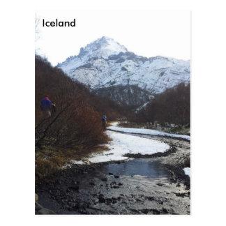 Þórsmörk, Iceland Postcard
