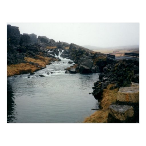 þingvellir UNESCO site, Iceland Postcards