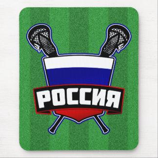России Russian Lacrosse Mouse Pad