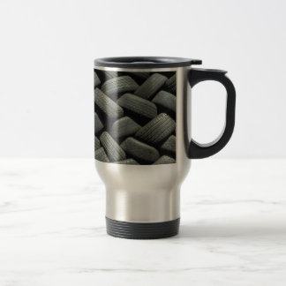 Сar tires stainless steel travel mug