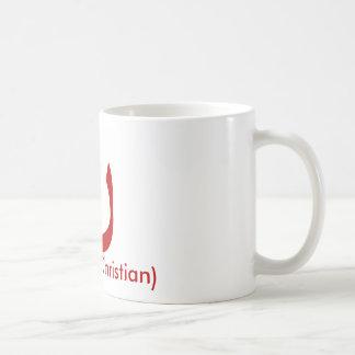 "ن - ""Nasrani"" (Christian) Basic White Mug"