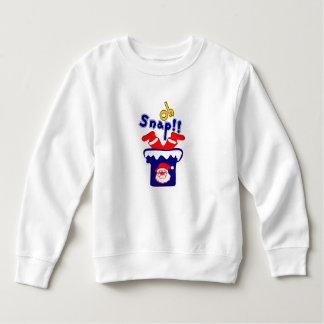 🎅ټOh! Sanp, Santa Stuck in a Chimney Toddler Sweatshirt