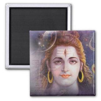ॐ नमः शिवाय ψ Om Namah Shivay ॐ नमः शिवाय ψ Square Magnet