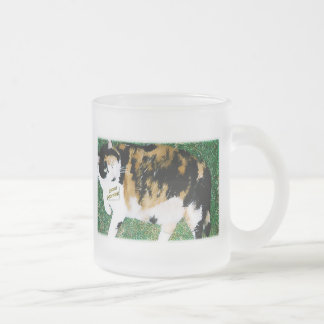 Ṕ℮т Ṕ℮◎℘ℓε'ṧ Frosted Glass Mug