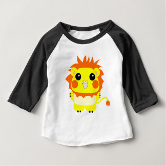 オカメインコcockatiel in his Halloween lion costume Baby T-Shirt