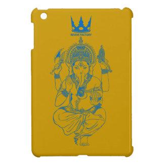 ガネーシャ 青 iPad MINIケース