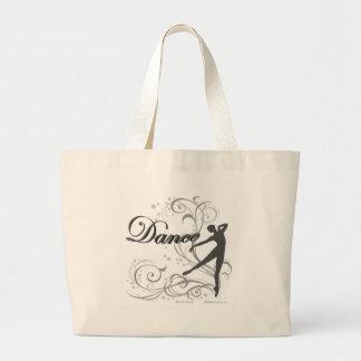 ダンス スクロール JUMBO TOTE BAG