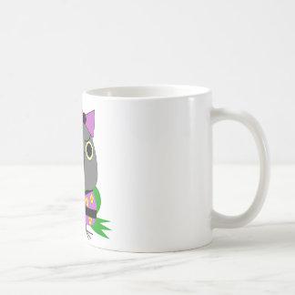 ネズミガシラハネナガインコ  オウム  Senegal Parrot in Kimono Coffee Mug