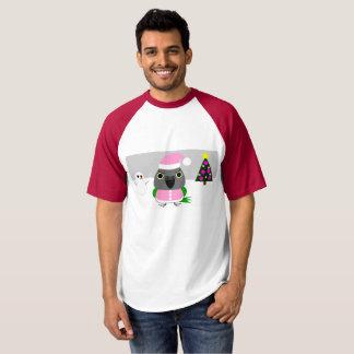 ネズミガシラハネナガインコ, パロット, オウム ,parrots,christmas,holida T-Shirt