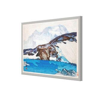 ブライトホルン, Breithorn, Hiroshi Yoshida, Woodcut Canvas Print