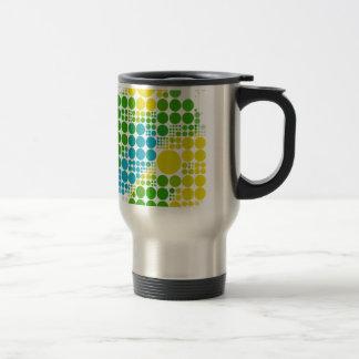 ブラジルカラー 水玉 Brazil colour polka dot Travel Mug