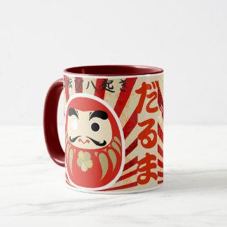 七転び八起き DARUMA Mug