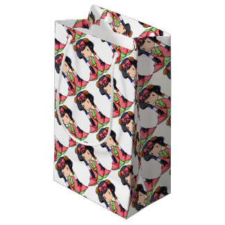 伏 English story Nanso Chiba Yuru-chara Small Gift Bag