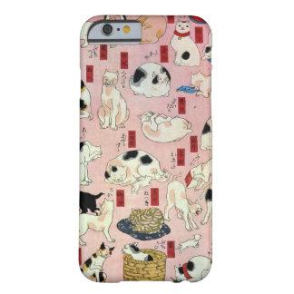 其のまま地口猫飼好五十三疋(中), 国芳 Cats(2), Kuniyoshi, Ukiyo-e Barely There iPhone 6 Case
