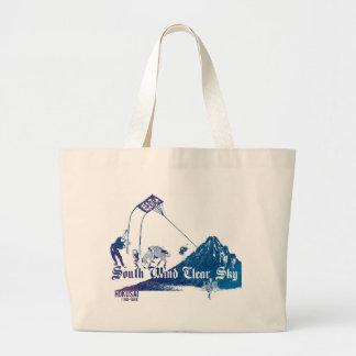 凱 wind fine weather large tote bag