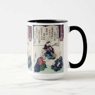 國芳 Ken Rabbit Epidemic Kuniyoshi Fine Art Mug