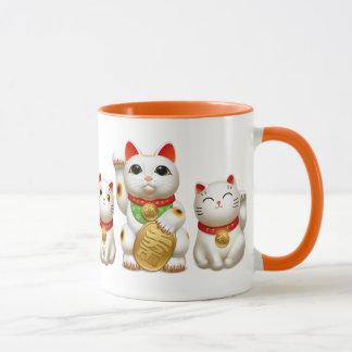 招き猫 maneki neko mug