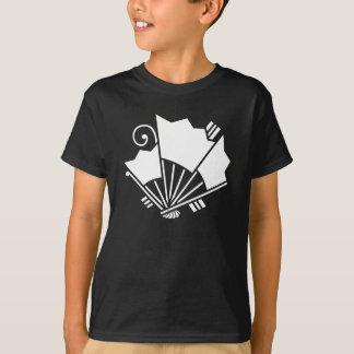 揚 feather fan butterfly T-Shirt