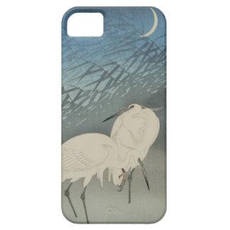 月と白鷺, 古邨 Egrets & Moon, Koson, Ukiyo-e iPhone 5 Case