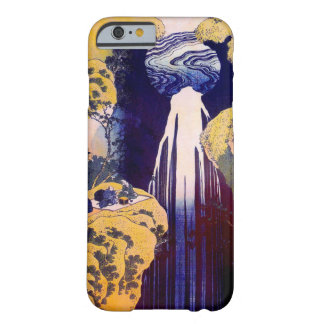 木曽路の滝, Waterfall of Kiso-road, Hokusai, Ukiyo-e Barely There iPhone 6 Case