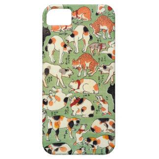 猫尽両めん合, 芳藤 Cats of The Edo era, Yoshifuji, Ukiyo-e iPhone 5 Cases