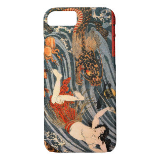 "玉取姫 ""Princess Jewel Taker"" Tamatori-hime iPhone 4S iPhone 8/7 Case"