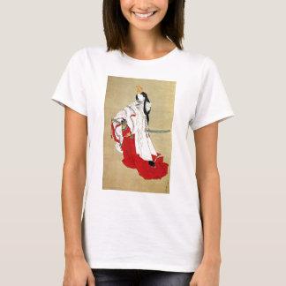 白拍子, 北斎 Shirabyōshi Dancer, Hokusai, Ukiyo-e T-Shirt