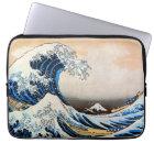 神奈川沖浪裏, 北斎 Great Wave, Hokusai, Ukiyo-e Laptop Sleeve