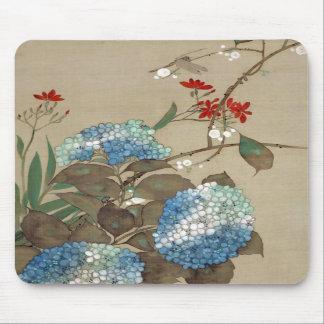 紫陽花, 抱一 Hydrangea, Hōitsu Mouse Pad