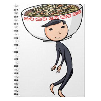 萌 palm boy English story Ramen shop Kanagawa Notebooks