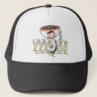 萌 palm doctor English story Ramen shop Kanagawa Trucker Hat