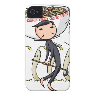 萌 palm gentleman English story Ramen shop Kanagawa Case-Mate iPhone 4 Cases