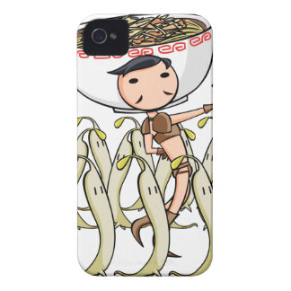 萌 palm soldier English story Ramen shop Kanagawa iPhone 4 Case