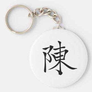 陳 書法毛筆 * 陈 书法 毛笔 * Chinese Surname Chen  姓 Chén Ta Key Ring