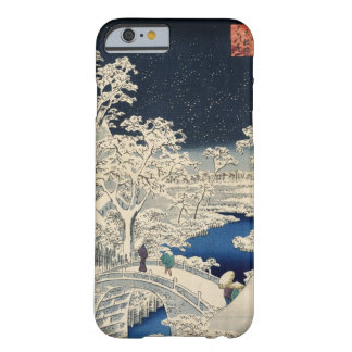 雪 太鼓橋 広重 Snowy Drum bridge Hiroshige Ukiyo-e iPhone 6 Case