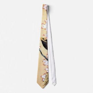 鷲と桜, 北斎 Eagle and Cherry Blossoms, Hokusai Tie