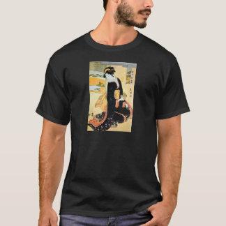 黒い着物の女, 豊国 Woman of Black Kimono, Toyokuni T-Shirt