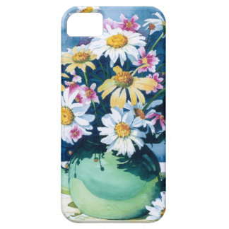 0006 Daisies in Green Teapot iPhone 5 Cover