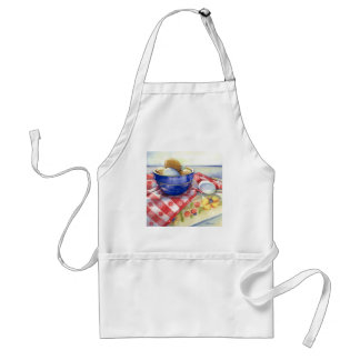 0009 Eggs in Blue Bowl Apron
