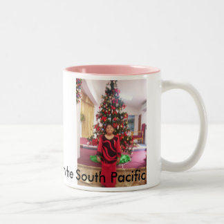 000_0059, Happy Holidays form the South Pacific Two-Tone Coffee Mug