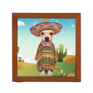 000-mexican desk organiser