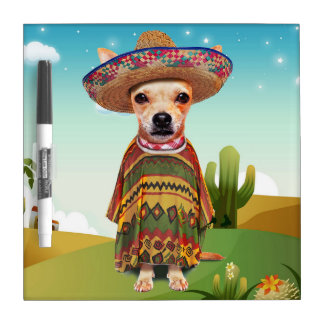 000-mexican dry erase board