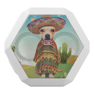 000-mexican white bluetooth speaker