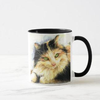 0010 Calico Cat Mug