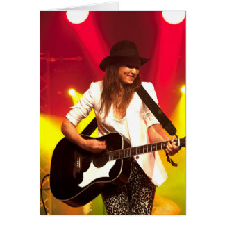 001 KT Tunstall at Cambridge Folk Festival Greeting Card