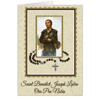 0023 St. Benedict Joseph Labre Note Card