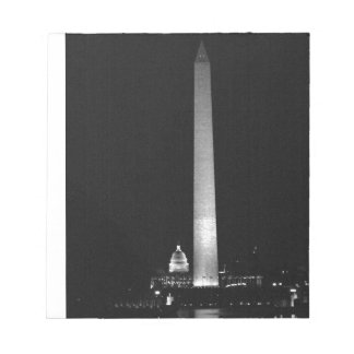 0031 Washington's Glow (Night B&W).JPG Notepad