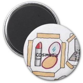 003.jpg busy woman 6 cm round magnet