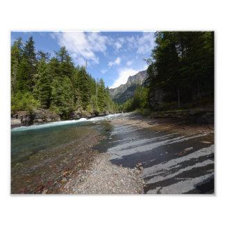 0063 8/12 McDonald Falls Glacier Park Photograph